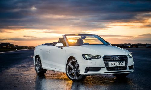 rent audi a3 cabrio in heraklion airport