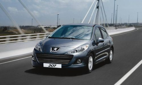 rent a cheap peugeot 207
