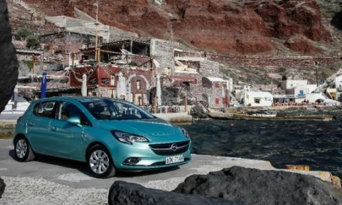 economical opel corsa for rent stalida