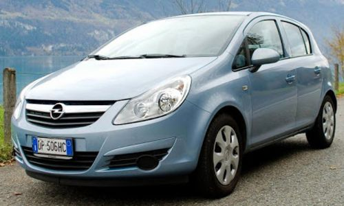 economical opel corsa for rent chania airport