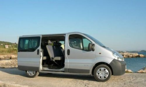 rent a 9 seater chania airport