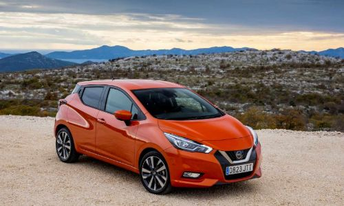 nissan micra k14 for rent in heraklion airport